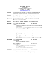 graphic designer resume objective sample Template
