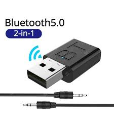 <b>LEEHUR USB Bluetooth 5.0</b> Transmitter Receiver Stereo 3.5mm ...