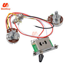 popular 3 pickup wiring buy cheap 3 pickup wiring lots from china 3 Pickup Guitar Wiring 3 pickup guitar wiring harness prewired with 500k pots 5 way switch 1 volume 1 tone 3 pickup guitar wiring diagrams
