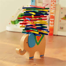 Elephant/Camel Balancing Blocks <b>Cartoon Baby</b> Educational <b>Toys</b> ...