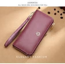 <b>LAORENTOU Brand Lady</b> Wallet Simple & Stylish Women Zipper ...
