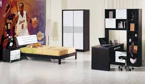 cheap kids bedroom ideas:  elegant modern boys bedroom furniture sets with minimalist black color also cheap kids bedroom sets