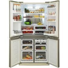 <b>Sharp SJ</b>-<b>EX98FBE Холодильник</b> бежевый — купить, цена и ...