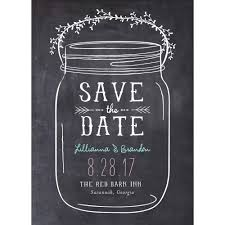 mason jar standard save the date walmart com