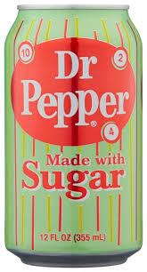 Купить <b>Газированный напиток Dr</b>. <b>Pepper</b> Real Sugar, США, 0.355 ...
