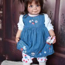 Коллекционная <b>виниловая кукла</b> Лиза из молда Lizzy by Gerlinde ...