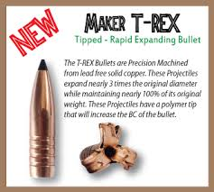 Maker Bullets offers copper bullets, solid copper and lead free ...