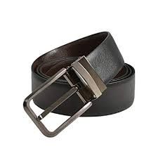 GSG Mens Reversible Leather Belt <b>Genuine Cowhide</b> Leather Waist ...