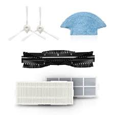 <b>360</b> Robot Cleaner Accessories Combo <b>Side Brushes</b> Washable ...