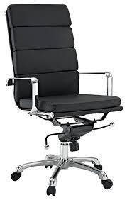 eden high back office chair in black vinyl modern office chairs black office chair
