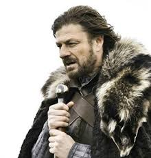 Brace Yourself Winter is Coming. - caption | Meme Generator via Relatably.com