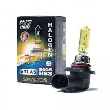 Галогенная <b>лампа AVS</b>/<b>ATLAS ANTI-FOG</b>/BOX желтый HB3 ...