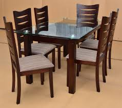 latest dining tables: latest dining table designs with glass top wood wooden with price