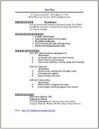Hostess Resume Example   ALEXA RESUME   hostess resume example