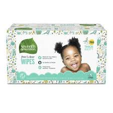 Seventh Generation <b>Free & Clear</b> Baby Wipes With Dispenser ...