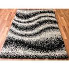 Shaggy contemporary area rugs