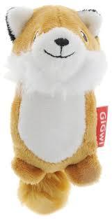 <b>Игрушка</b> для собак <b>GiGwi Dog Toys</b> Лисичка без набивки (75014 ...