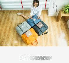Packable Carry On Duffel <b>Bag</b> Women <b>Folding Travel Bag</b> Unisex ...