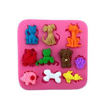 3D Pig <b>Silicone Ice Cream</b> Mould Kitchen Chocolate Cake Mold ...