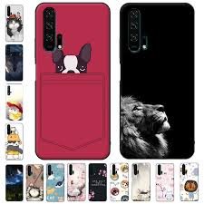 For Huawei Nova 5T Case 3D Flower <b>Emboss</b> Silicone <b>Phone</b> ...