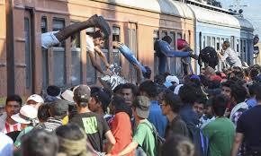 Resultado de imagen de inmigrantes en europa 2015 fotos