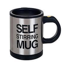 <b>Кружка</b>-мешалка <b>Self Stirring</b> Mug, черная