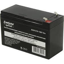 <b>Аккумулятор для ИБП</b> 12V 7Ah <b>Exegate</b> EXS1270 — купить, цена ...