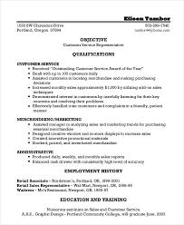 certified customer service representative resume customer services representative resume