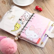 <b>2017</b> Japanese <b>Cute</b> Fresh Style Office Personal Time Organizer ...