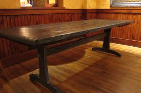 modern dining table teak classics:  classic rustic dining table to bring natural look in your dining space rustic dining table