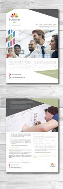 design a marketing flyer for hr consultancy lancer 12 for design a marketing flyer for hr consultancy by elegantconcept77