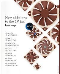 <b>Noctua</b> выпустила новую линейку пятивольтовых <b>вентиляторов</b> ...