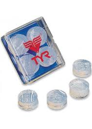 <b>Беруши для бассейна TYR</b> Soft Silicone Ear Plugs: купить по цене ...