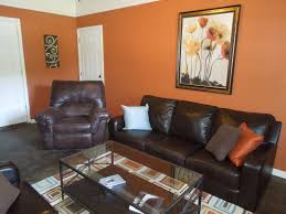 ideas burnt orange: wall orange with modern wallpaper ideas paint
