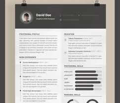 if you are looking for a uniqe resume that could be easely edited    free resume template by muhamad reza adityawarman