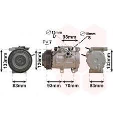 <b>Compressor</b>, air conditioning 977014H000 OE Number buy online