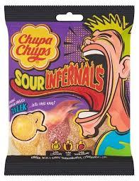 <b>Мармелад Chupa Chups Sour</b> Infernals ассорти 153 г ...