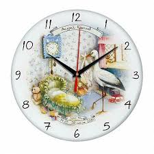 <b>Часы настенные стеклянные Time</b> Wheel купить по цене 745 ...