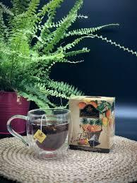Чай черный в пирамидках / Черный чай с ананасом, манго ...