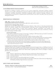 customer service manager resume sample recentresumes com customer service manager resume example professional experience