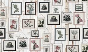 <b>Cactus Wall Art</b>, Faded   R15322   Rebel Walls EN-CA
