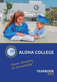 Aloha College Yearbook/Anuario 2017 by Aloha College - issuu
