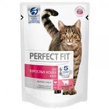 Консервы <b>Perfect Fit Adult для</b> Взрослых Кошек с Говядиной в ...