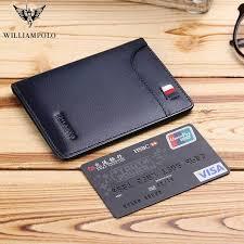 <b>WILLIAMPOLO 2019 fashion brand</b> men wallets genuine leather ...