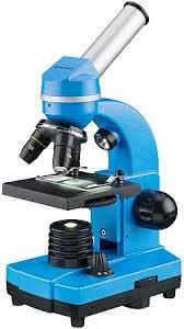 Купить <b>Микроскоп Bresser Junior Biolux</b> SEL 40–1600x, синий в ...