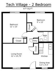 tiny house single floor plans bedrooms   melbourne village floor    tiny house single floor plans bedrooms   Apartment Floor Plans   Tennessee