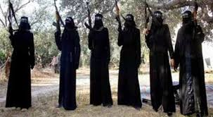 Resultado de imagen de estado islamico mujer