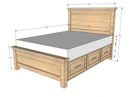 Queen Headboard Dimensions King Size Dimensions Of A Queen Bed Size Amp King Lengt Standard