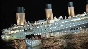 Resultado de imagen de titanic hundido