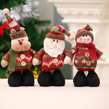 Novelty Decorations Home <b>Christmas Decorations Standing</b> Posture ...